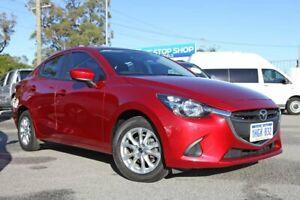2016 Mazda 2 DL2SAA Maxx SKYACTIV-Drive Red 6 Speed Sports Automatic Sedan