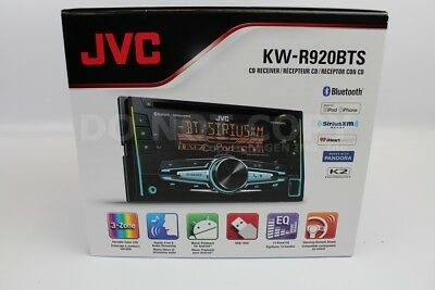 $107.35 - JVC KW-R920BTS Double-Din In-Dash Car Stereo CD Player/Receiver w/Bluetooth+USB