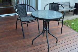 Outdoor Round Dining Table And Chairs FOR SALE ! North Sydney North Sydney Area Preview