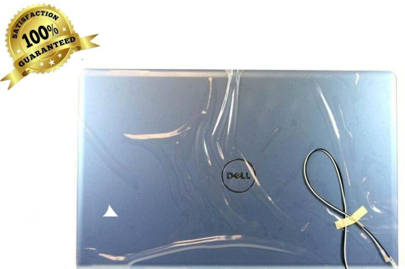 "New OEM Dell Inspiron 1764 17.3"" LID LCD Back Cover with Hinges R8T9K"