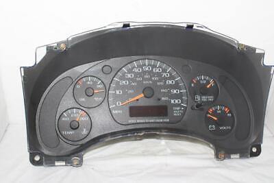 Speedometer Instrument Cluster Dash 01 02 Savana/Express Van Gauges w/ 261,087 m