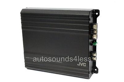 JVC KS-AX201 AX2 Series 500 Watt Monoblock Class AB Car Subwoofer Amplifier New (Jvc Car Amp)