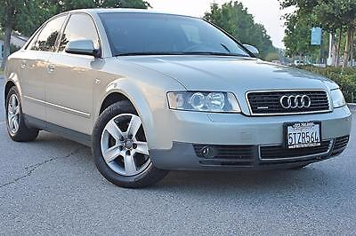 2003 AUDI A4 AWD QUATTRO SEDAN LOW MILAGE CALIFORNIA CAR *** NO RESERVE ***