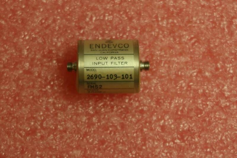 ENDEVCO 2690-103-101 Low Pass Filter 10,000pF 100Hz
