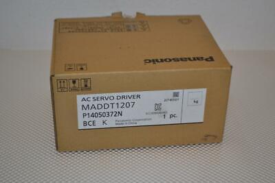 One New Panasonic Ac Servo Driver Maddt1207.