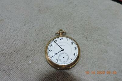 Antique 16 Size Hamilton Pocket Watch Cal. 956 Org Hamilton Gold Filled Case