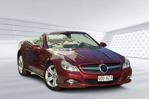 2008 Mercedes-Benz SL350 R230 08 Upgrade Red 7 Speed Automatic G-Tronic Convertible