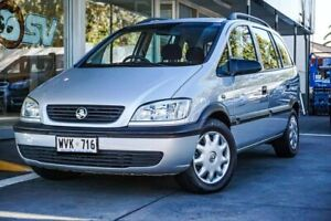 2002 Holden Zafira TT Silver 4 Speed Automatic Wagon Somerton Park Holdfast Bay Preview