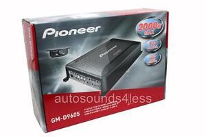 Pioneer GM Digital Series GM-D9605 2000 Watt 5-Channel Class FD Car Amplifier