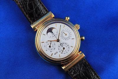 IWC Da Vinci Perpetual Calendar Chronorgaph 18kt Yellow Gold Watch Ref: 3750