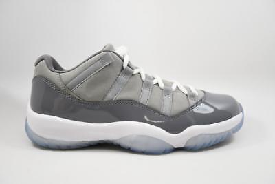 Nike Jordan Retro Xi 11 Low Cool Grey White Gunsmoke 2018 Lot 528895 003 Size 10