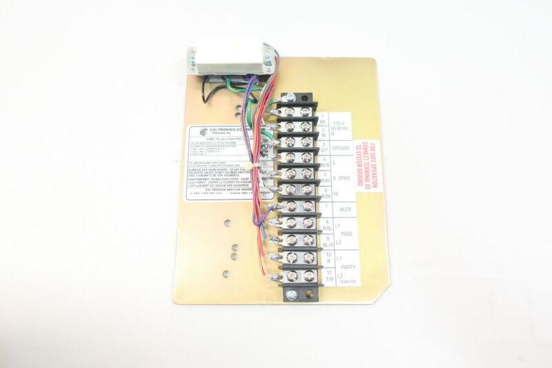Gai-tronics 758-001A Page/party Amplifier