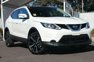 2017 Nissan Qashqai J11 TI White 1 Speed Constant Variable Wagon Ringwood Maroondah Area Preview