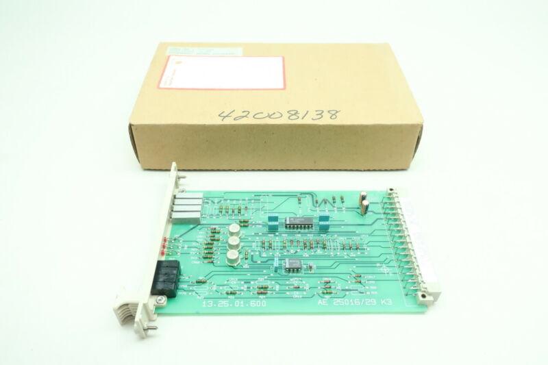 Abb 720083 AE 25016/29 K3 Critical Speed Pcb Circuit Board