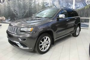 2014 JEEP GRAND-CHEROKEE SUMMIT 4X4 *CUIR/TOIT/NAV/TECH*