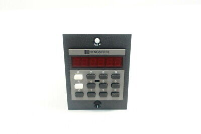 Hengstler 890 Digital Counter Keypad