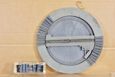 Used, FLEISCHMANN 1938 9151 N SCALE MANUAL LOCOMOTIVE TURNTABLE with EXTRA EXITS nr for sale  Shipping to United States