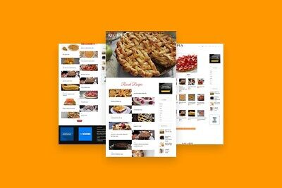 13000 Recipes Wordpress Established Website Ll Highly Profitable