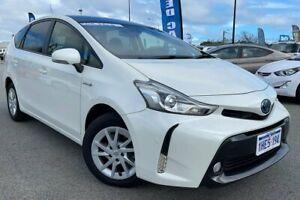 2020 Toyota Prius v ZVW40R I-Tech White 1 Speed Constant Variable Wagon Hybrid