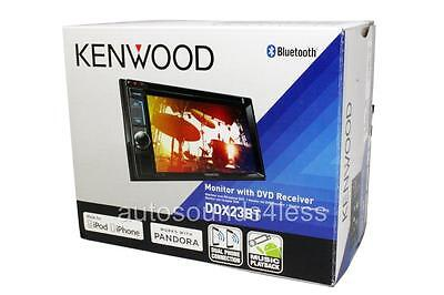 NEW Kenwood DDX23BT 2 DIN DVD/CD Player Android iPhone App RBDS Radio Bluetooth