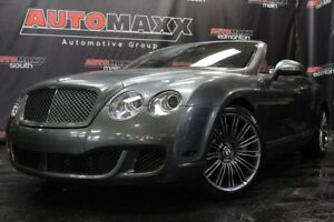 2010 Bentley Continental GTC Speed Convertible!