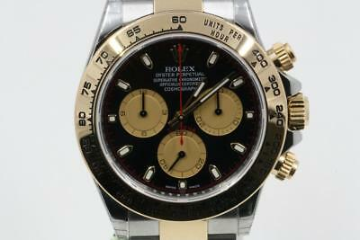 Rolex Daytona 116503 Black Paul Newman Dial 2018 Model Box & Booklets