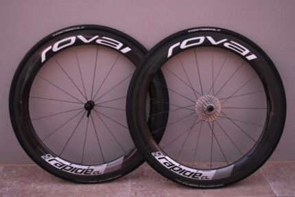 Roval Rapide CL 60 Full Carbon Clincher Wheelset