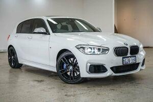 2017 BMW 1 Series F20 LCI-2 M140i White 8 Speed Sports Automatic Hatchback