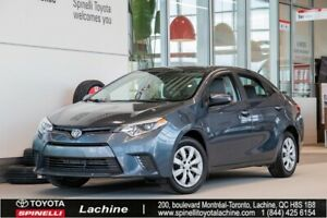 2016 Toyota Corolla LE AIR CONDITIONED! HEATED SEATS! BLUETOOTH!