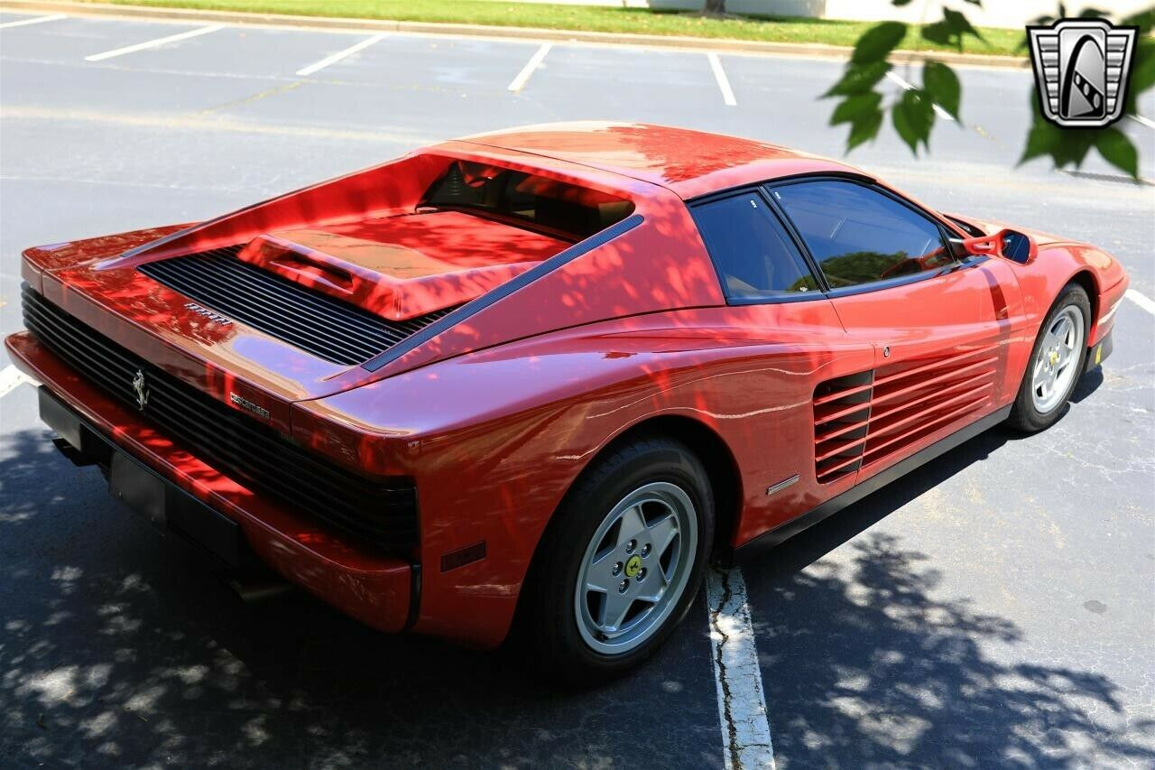 Red 1988 Ferrari Testarossa  Coupe 4.9 L V12 5 Speed Manual Available Now!