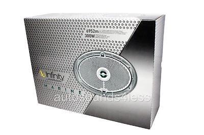 "New Infinity 6952M 300 Watts 6"" x 9"" 2-Way Coaxial Marine Audio Speakers 6""x9"""
