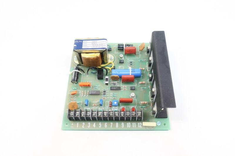 Jordan Controls AD8813 Servo Amplifier Pcb Board 120v-ac