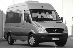 2008 Mercedes-Benz Sprinter NCV3 MY08 Transfer Low Roof Silver 5 Speed Automatic Bus