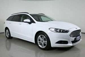 2017 Ford Mondeo MD Ambiente TDCi White 6 Speed Automatic Wagon