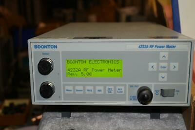 Boonton 4232a Dual Channel Power Meter W 2 Ea 51085 Power Sensors Nice
