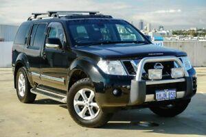 2012 Nissan Pathfinder R51 MY10 Ti 550 Black/Grey 7 Speed Sports Automatic Wagon