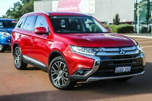 2017 Mitsubishi Outlander ZK MY17 LS 2WD Red 6 Speed Constant Variable Wagon Cannington Canning Area Preview