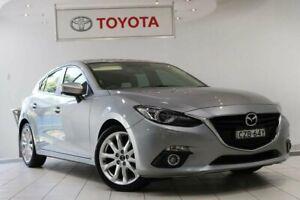 2015 Mazda 3 BM5438 SP25 SKYACTIV-Drive GT Grey 6 Speed Sports Automatic Hatchback Waterloo Inner Sydney Preview
