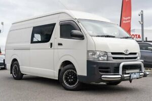 2010 Toyota HiAce TRH201R MY11 LWB White 4 Speed Automatic Van Dandenong Greater Dandenong Preview