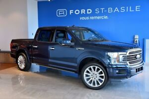 2018 Ford F150 Limited / 4X4 / 3.5L / WOW !! Winter tires includ