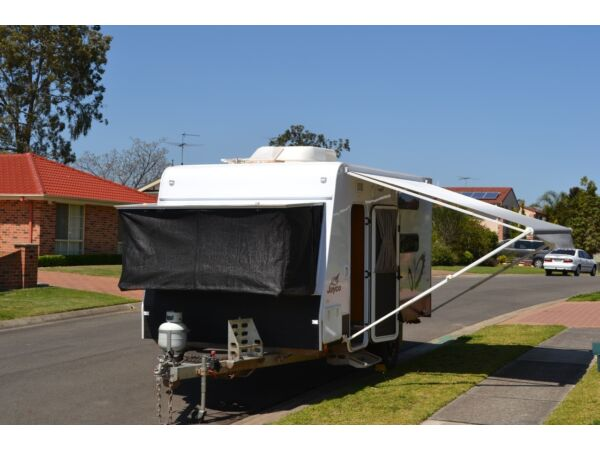 Jayco Work n Play 14.44 2013 Jayco 14.44 Outback Work