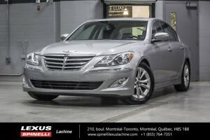 2012 Hyundai Genesis sedan 3.8L RWD; CUIR TOIT BLUETOOTH LOW MIL