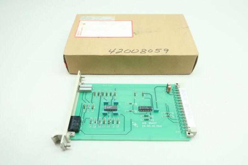 Abb 720084 AE-25017 Stal Follow Up Speed Set Value Card Pcb Circuit Board