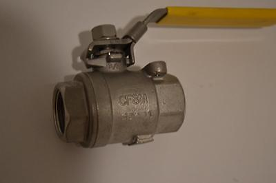 One New Legend 34 Stainless Valve T-712