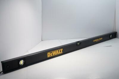 New Dewalt 48 Carbon Fiber Carpenters Composite Box Beam Level.