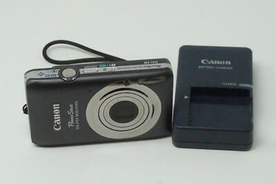 Canon PowerShot ELPH 100HS 12.1MP Digital Camera Gray Used B0163