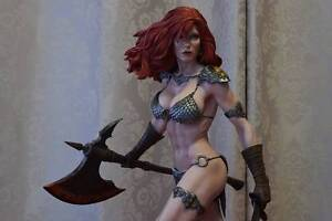 Exclusive Red Sonja She Devil with a Sword Sideshow Loganlea Logan Area Preview