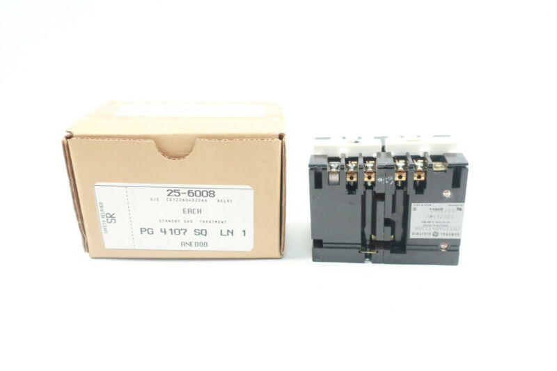 General Electric Ge CR122A04322AA Time Delay Relay 0.2-60sec 120v-ac