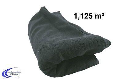 HiFi Bespannstoff grau 150 x 75 cm - Lautsprecher Boxen Abdeckung - Stoff -