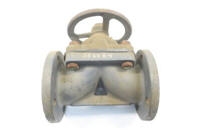 Hills Mccanna Fig No. 5 Iron Flanged Diaphragm Valve 3in